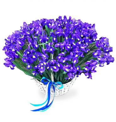 """Цветы в корзине """"Самым близким"""""""