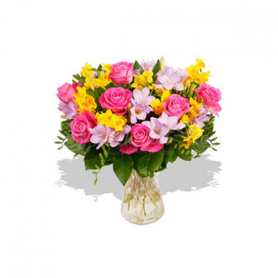 Букет «Весенние цветы»